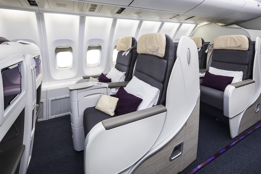 Corsair classe business 2 l 39 a rien for Migliori cabine business class 2017
